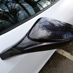Ferrari 458 Rear Angled Carbon Mirror