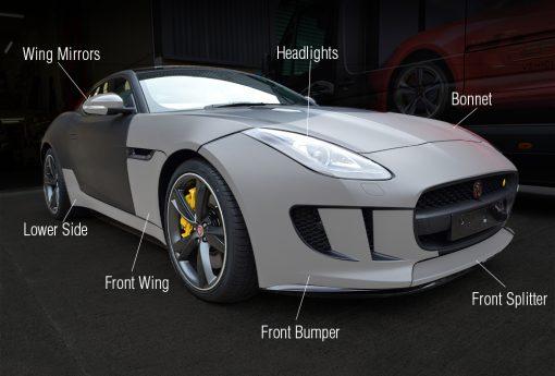 Jaguar-F-Type-Paint-Protection-Film