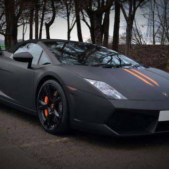 Lamborghini Gallardo Matte Front Angled
