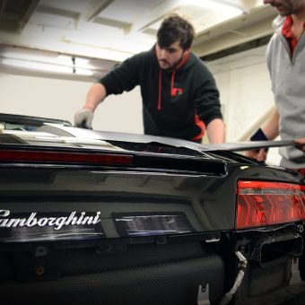 Lamborghini Gallardo Wrapping Leeds
