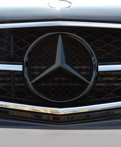 Mercedes C63 Black Chrome Badge