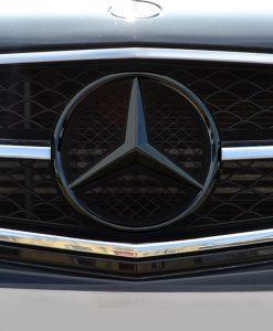 Mercedes C63 Black Chrome Badge