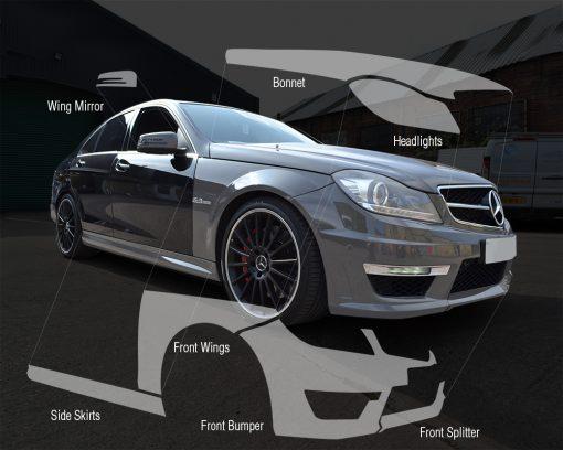 Mercedes-C63-Paint-Protection-Film