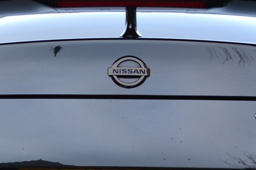 Nissan GTR Black Chrome Badge