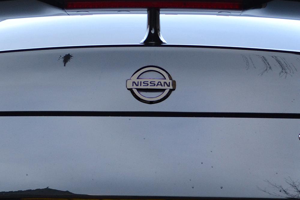 Black Chrome Nissan Badge