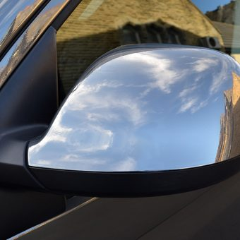 Volkswagen Transporter Black Chrome Mirror