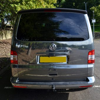 Volkswagen Transporter Black Chrome Rear