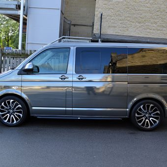 Volkswagen Transporter Black Chrome Side Unit