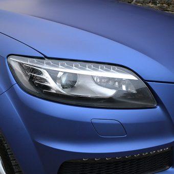 Audi Q7 Colour Change Matte Blue