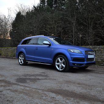 Audi Q7 Colour Change Wrap Bradford