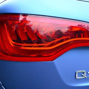 Audi Q7 Colour Change Wrap Rear Light