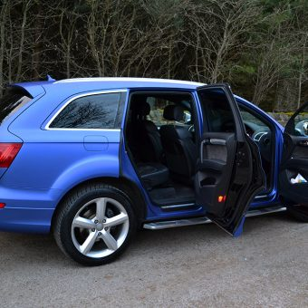 Audi Q7 S Line Door Inserts Wrapped