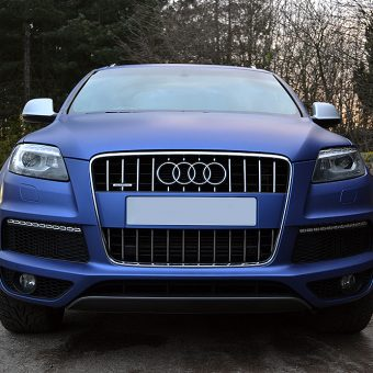 Audi Q7 Wrapped Front