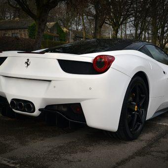Ferrari 458 Rear Angled