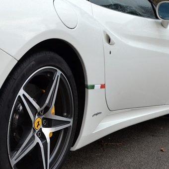 Ferrari California Italian Flag Graphic Rear Wing