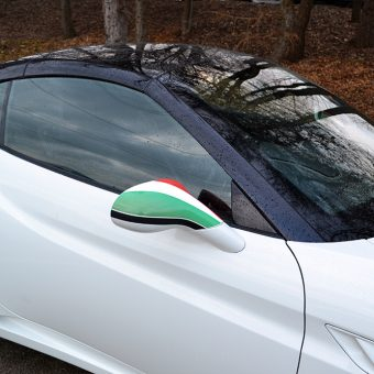 Ferrari California Italian Flag Graphic Roof