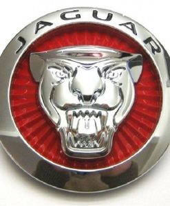 Jaguar FType Gloss Red Front Badge
