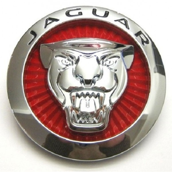 Gloss Red Front Badge