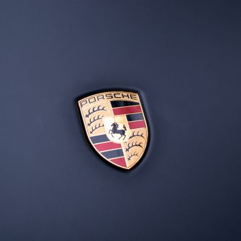 Porsche Cayenne Matte Black Badge