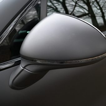 Porsche Cayenne Wing Mirrors Wrapping