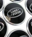 Range Rover Sport Black Center Caps
