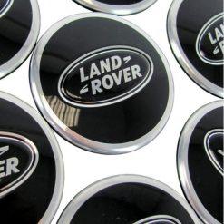 Range Rover Sport Black Center Caps