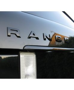 Range Rover Sport Gloss Black Bonnet Badges Fitted