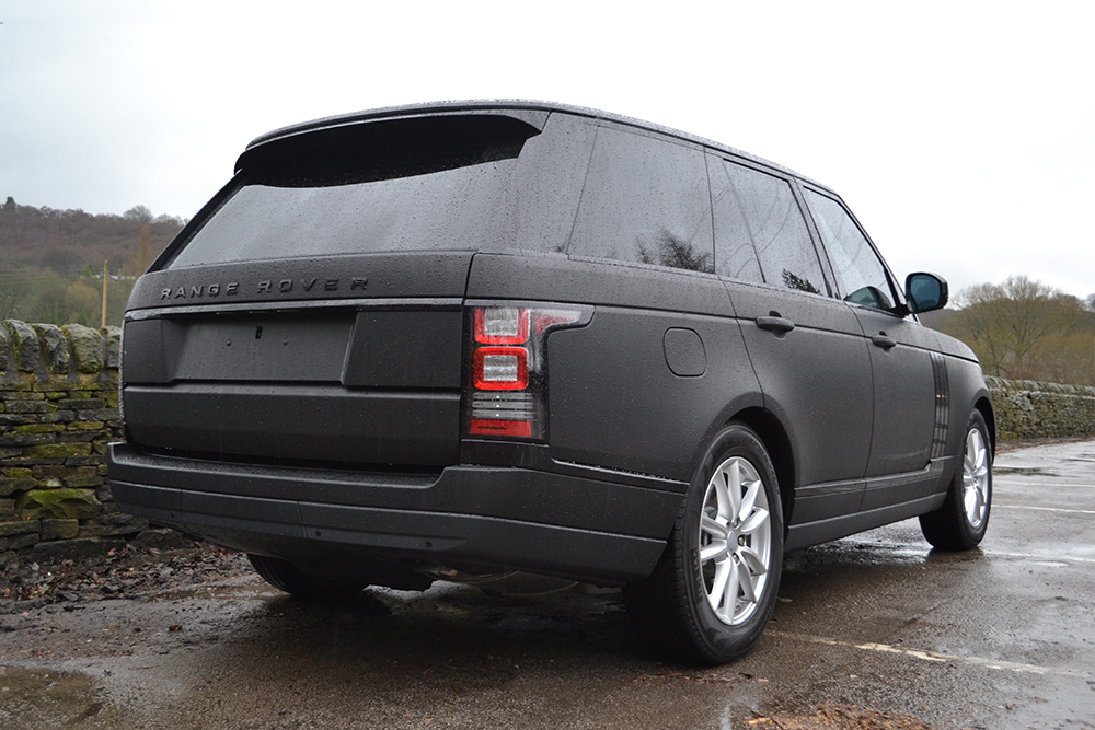 Range Rover Vogue Matte Black