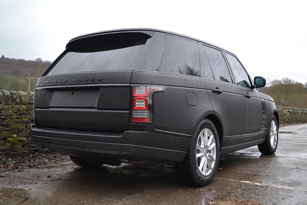 Range Rover Matte Black >> Matte Black Range Rover Vogue - Reforma UK