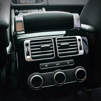 Range Rover Vogue Rear Climate Controls