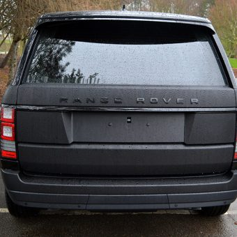 Range Rover Vogue Rear Wrapped
