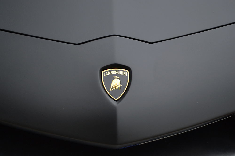 Lamborghini Aventador Front Badge Reforma Uk