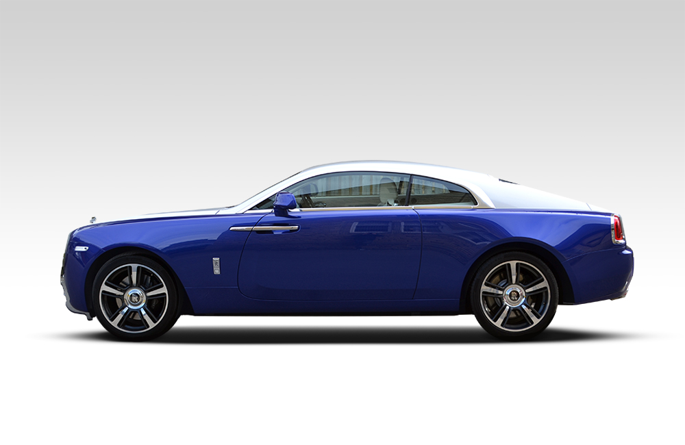After-Rolls Royce Wraith Roof Wrap
