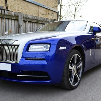 Rolls Royce Wraith Wrapped Front