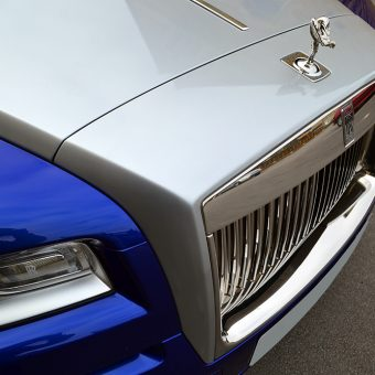 Rolls Royce Wraith Wrapped Nose