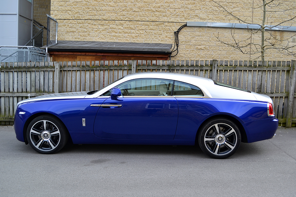Rolls Royce Wraith Wrapped Side