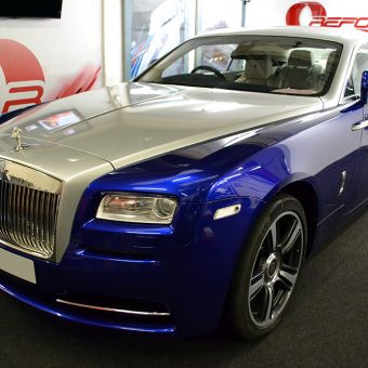 Rolls Royce Wraith Wrapped Workshop