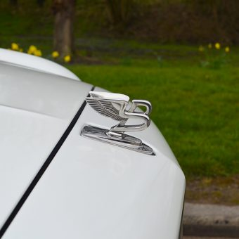 Bentley Mulsanne Wrapped Bonnet Emblem