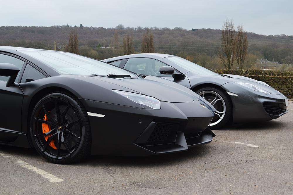 Vinyl Wrap Wheels >> Lamborghini Aventador Wrapped in Satin Black - Reforma UK