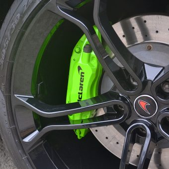 McLaren MP4 12C Painted Calipers