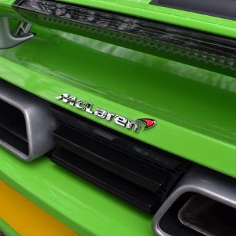 McLaren MP4 12C Rear Badge