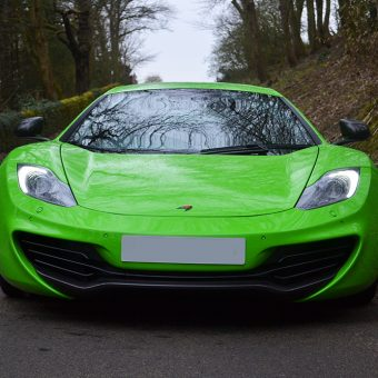 McLaren MP4 12C Wrapped Front