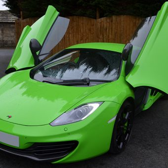 McLaren MP4 12C Wrapped Side Lambo Doors