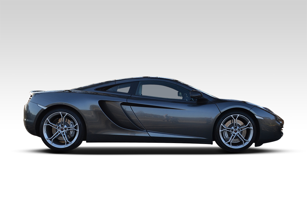 Before-McLaren MP4 12C Wrapped