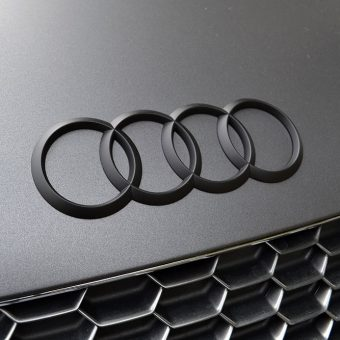 Audi R8 Matte Black Front Badge