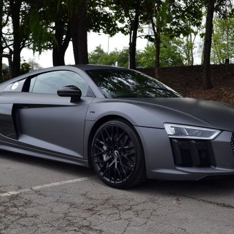 Audi R8 Wrapped Dark Grey 3M