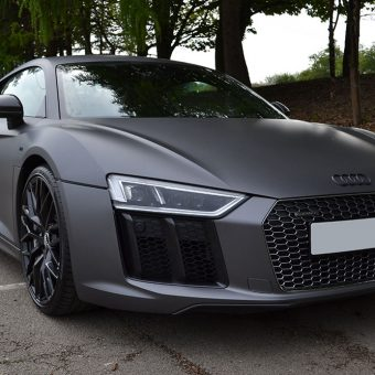 Audi R8 Wrapped Front End
