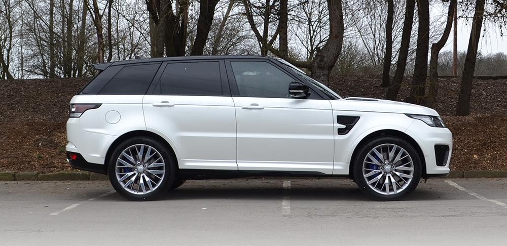 Range Rover SVR Reforma