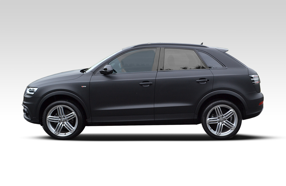 After-Audi Q3 Wrapped