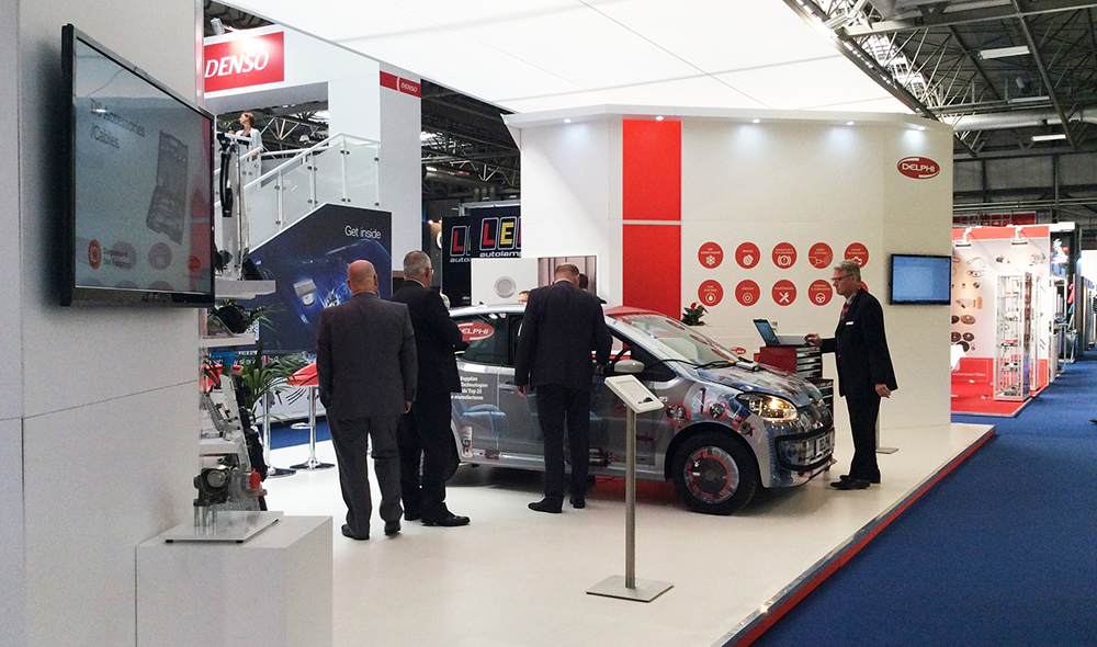Delphi VW Up Automechanika Birmingham Blog